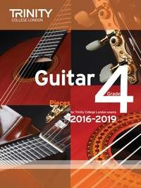 Guitar Exam Pieces Grade 4 2016-2019/20 available at Guitar Notes.
