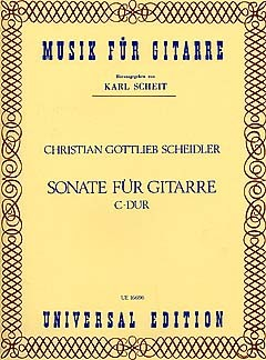 Sonata in C(Scheit) available at Guitar Notes.