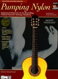Pumping Nylon Repertoire: Easy-Intermediate available at Guitar Notes.