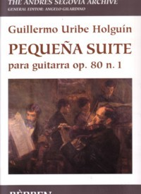 Pequena Suite, op.80/1 (Gilardino/Biscaldi) available at Guitar Notes.