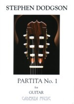 Partita no.1 (Williams) available at Guitar Notes.