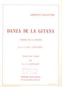 Danza de la Gitana(Azpiazu) available at Guitar Notes.