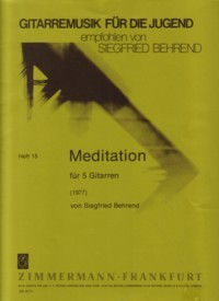 Meditation [5gtr] available at Guitar Notes.