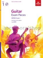 ABRSM Exam Pieces Grade 1 (2019) [BCD] available at Guitar Notes.