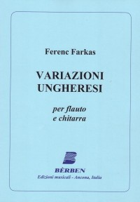 Variazioni Ungheresi available at Guitar Notes.
