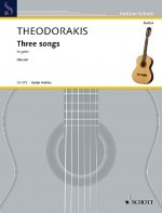 Three Songs (Nousis) available at Guitar Notes.