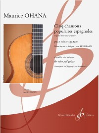 5 Chansons Populaires Espagnoles available at Guitar Notes.