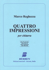 Quattro Impressioni available at Guitar Notes.