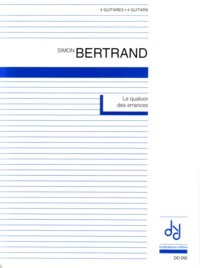 Le quatuor des errances available at Guitar Notes.