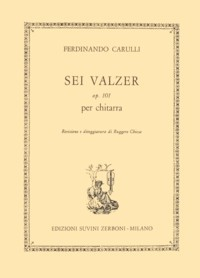 Sei Valzer, op.101(Chiesa) available at Guitar Notes.