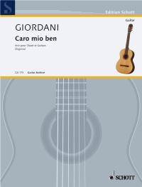 Caro mio ben(Segovia) available at Guitar Notes.