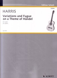 Variations and Fugue on a theme of Handel available at Guitar Notes.