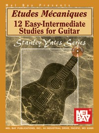Etudes Mecaniques available at Guitar Notes.