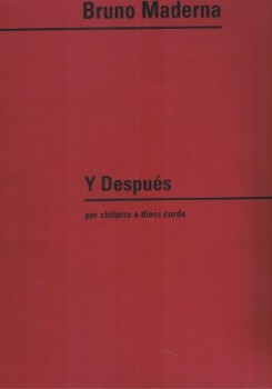 Y Despues [10 String Gtr] available at Guitar Notes.