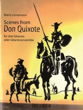 Scenes from Don Quixote available at Guitar Notes.