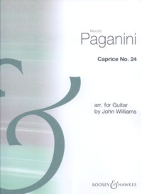 Caprice no.24 (Williams) available at Guitar Notes.