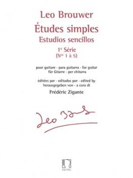 Etudes simples Series 1(Zigante) available at Guitar Notes.