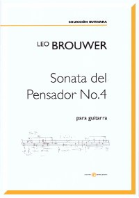 Sonata del Pensador No.4 (2012/13) available at Guitar Notes.