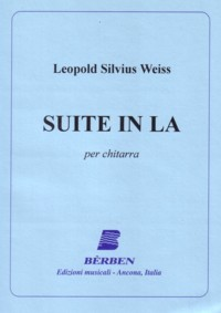 Suite in a minor [Weiss Suite] available at Guitar Notes.
