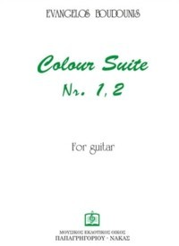 Colour Suites no. 1 & 2 available at Guitar Notes.