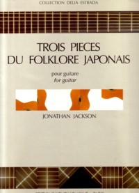 3 Pieces du folklore japonais available at Guitar Notes.