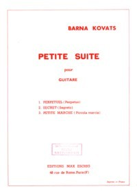 Petite Suite available at Guitar Notes.