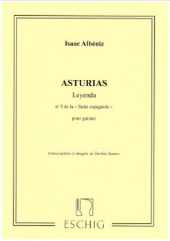 Asturias, leyenda(Santos) available at Guitar Notes.
