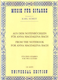 From The Notebook of Anna Magdalena Bach(Scheit) available at Guitar Notes.