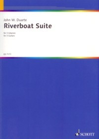 Riverboat Suite, op.94 available at Guitar Notes.