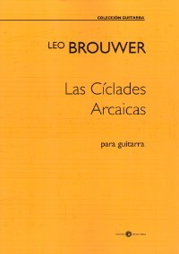 Las Ciclades Arcaicas [2017] available at Guitar Notes.