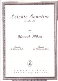 Leichte Sonatine available at Guitar Notes.