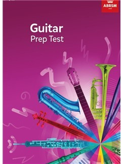 Guitar Prep Test 2019 available at Guitar Notes.