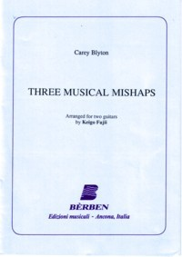 Three Musical mishaps(Fujii) available at Guitar Notes.