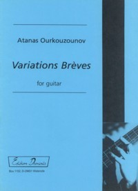 Variations Breves available at Guitar Notes.