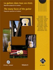 The Many Faces of the Guitar, Vol.6  [BCD] available at Guitar Notes.