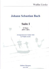 Suite no.1, BWV1007(Lieske) available at Guitar Notes.