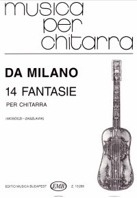 14 Fantasias(Mosoczi/Zaszlavik) available at Guitar Notes.