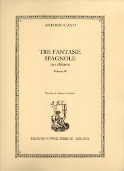 Composizioni Vol.4: Tre Fantasie Spagnole available at Guitar Notes.