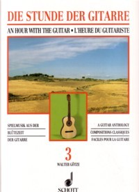 The Guitarist's Hour, Book 3 available at Guitar Notes.
