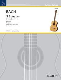 3 Violin Sonatas(Barrueco) available at Guitar Notes.