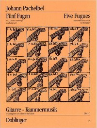 Five Fugues (Levy) available at Guitar Notes.