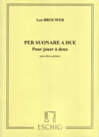 Per Suonare a due [1973] available at Guitar Notes.