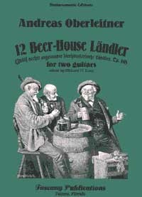 12 Beer House Landler, op.10((Long) available at Guitar Notes.