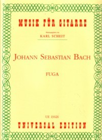 Fugue, BWV1000(Scheit) available at Guitar Notes.