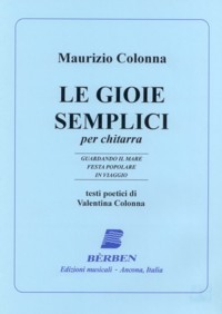 Le Gioie Semplice available at Guitar Notes.