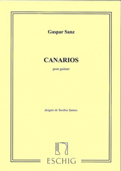 Canarios (Santos) available at Guitar Notes.