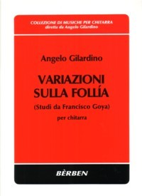 Variazioni sulla Folia [1990] available at Guitar Notes.