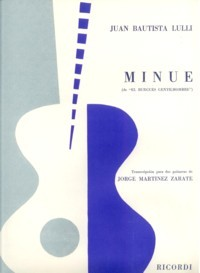Minuet(Martinez Zarate) available at Guitar Notes.
