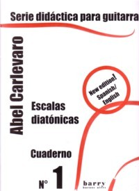 Serie didactica: Cuaderno no.1-Diatonic Scales available at Guitar Notes.