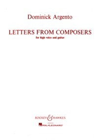Letters from Composers [High Voc] available at Guitar Notes.